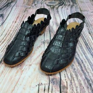 Rieker Antistress Sina Woven Leather Bootie